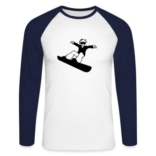 Snow-Long Shirt - Männer Baseballshirt langarm