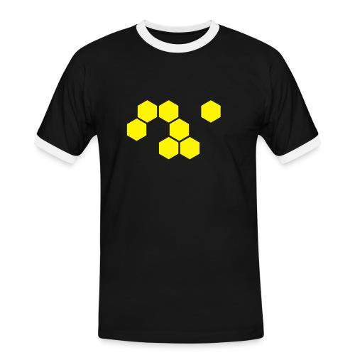 Plygone-Shirt - Männer Kontrast-T-Shirt