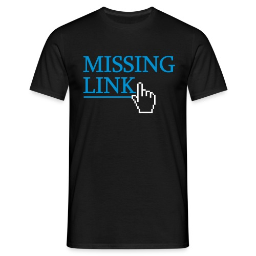 Missing link - T-skjorte for menn