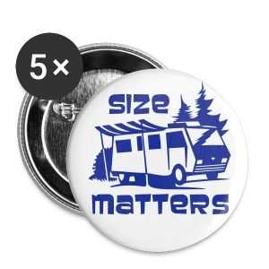 Badge - Size Matters - Buttons large 56 mm