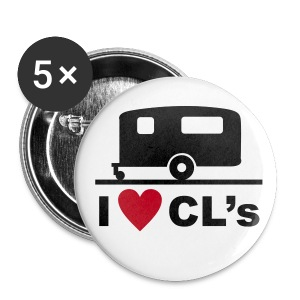 Badge - I love CL's - Buttons large 56 mm
