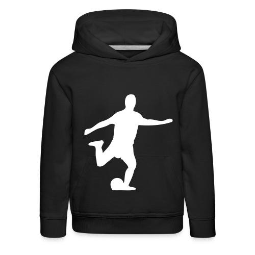 Fußball - Kinder Premium Hoodie
