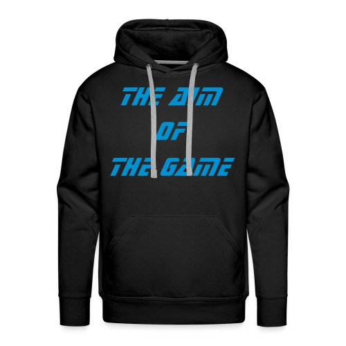 The Aim Of The Game Hoody (Lawless) - Men's Premium Hoodie
