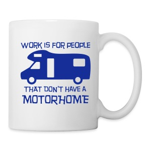 Mug - Work is for people - Mug