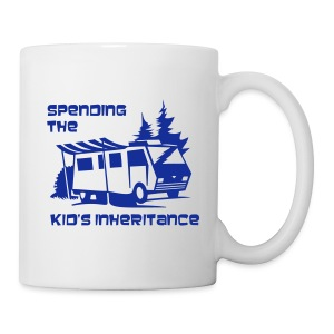Mug - Spending the kid's inheritance - Mug