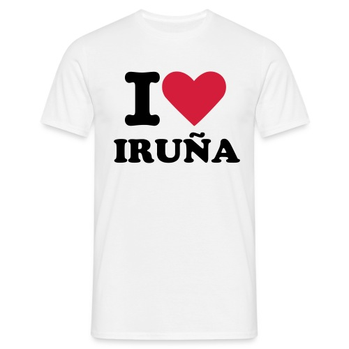 I LOVE IRUÑA - Men's T-Shirt