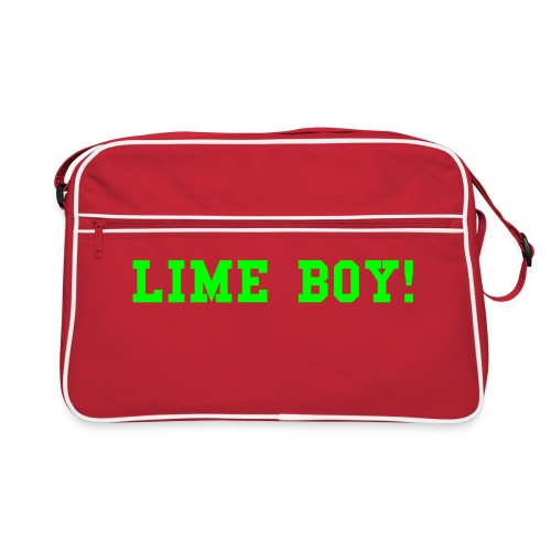 Lime Boy Retro Bag - Retro Bag