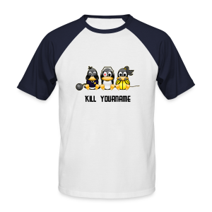 Kill You (Editable) - Men's Baseball T-Shirt