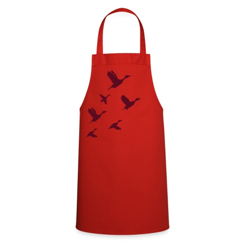 gaggle of geese - Kochschürze