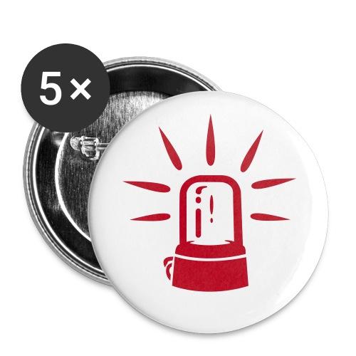 Buttons 5 Pack - Stor pin 56 mm (5-er pakke)
