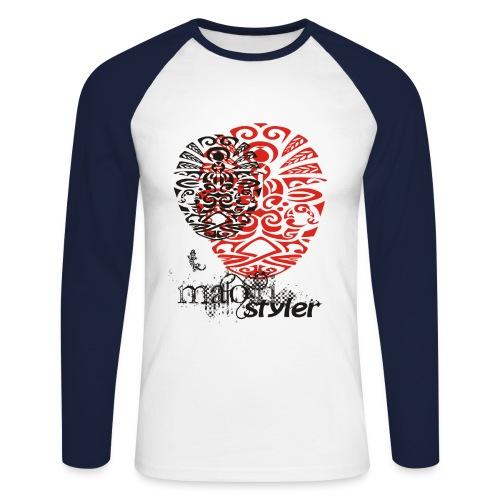 Maori h Styler men p i - Männer Baseballshirt langarm