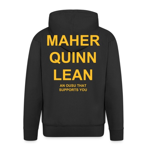 Maher Quinn Lean hoodie - Men's Premium Hooded Jacket