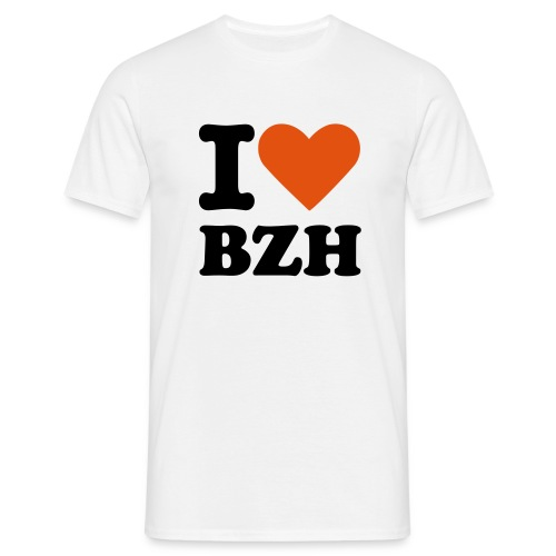I LOVE BZH - T-shirt Homme