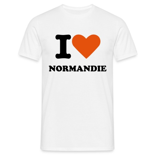 I LOVE NORMANDIE - T-shirt Homme