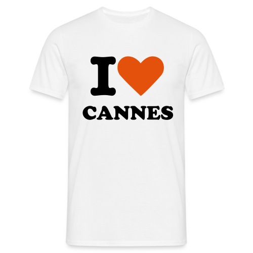 I LOVE CANNES - T-shirt Homme