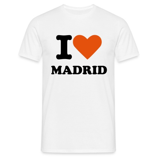 I LOVE MADRID - T-shirt Homme