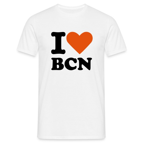 I LOVE BCN - T-shirt Homme