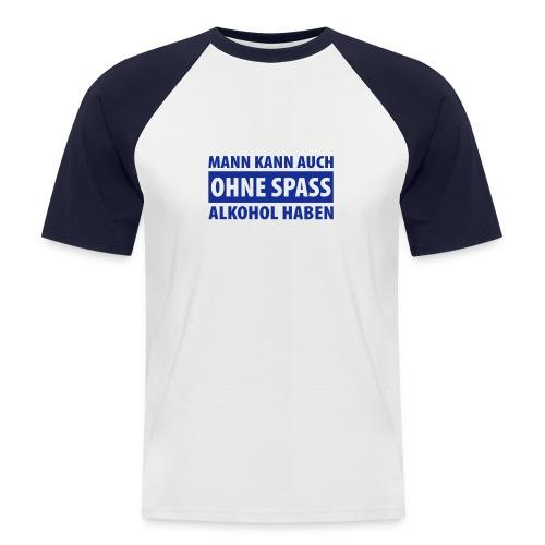 Hanes Raglan Party Shirt - Männer Baseball-T-Shirt