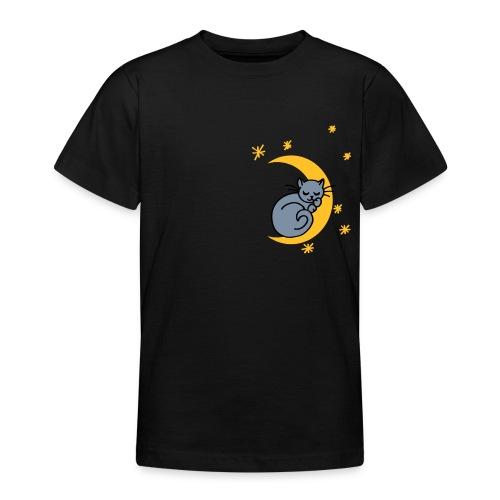 Mondkatze - Teenager T-Shirt