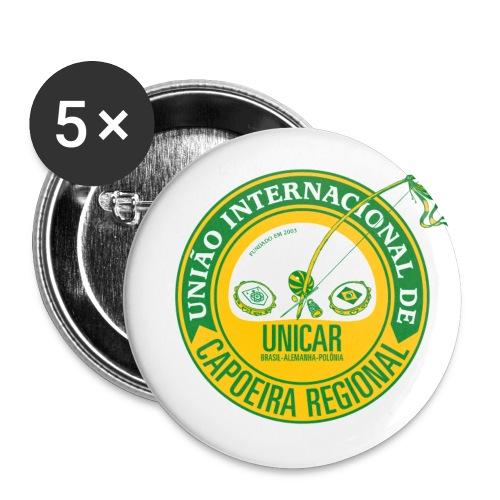 UNICAR 25mm Anstecker - Buttons klein 25 mm (5er Pack)