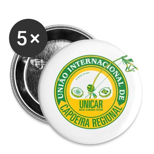 UNICAR 56mm Anstecker - Buttons groß 56 mm (5er Pack)
