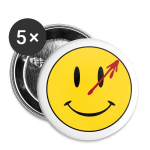 Watchmen Smiley - Chapa grande 56 mm