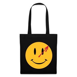 Watchmen Smiley - Bolsa de tela