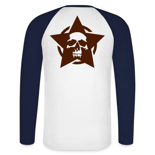 memento - Koszulka męska bejsbolowa z długim rękawem