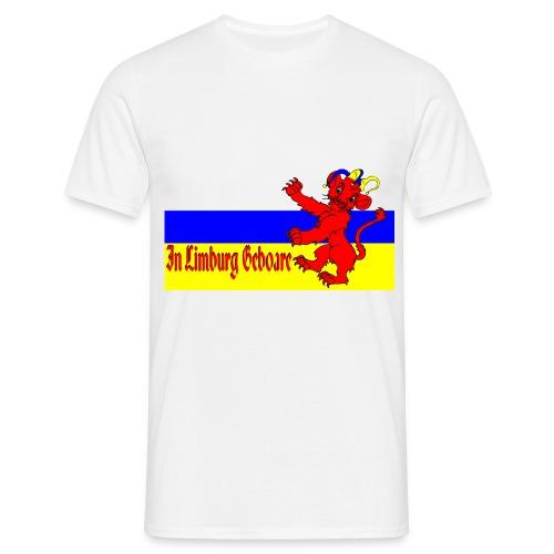 InLimburgGeboare - Mannen T-shirt