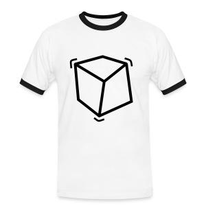 Cube'shirt - T-shirt contrasté Homme