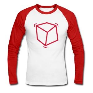 Cube'shirt - T-shirt baseball manches longues Homme