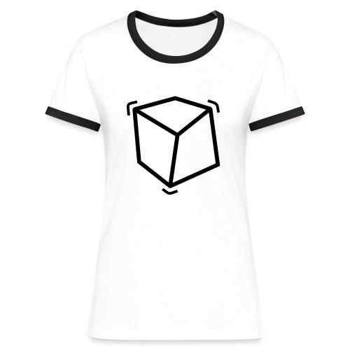 Cube'shirt - T-shirt contrasté Femme