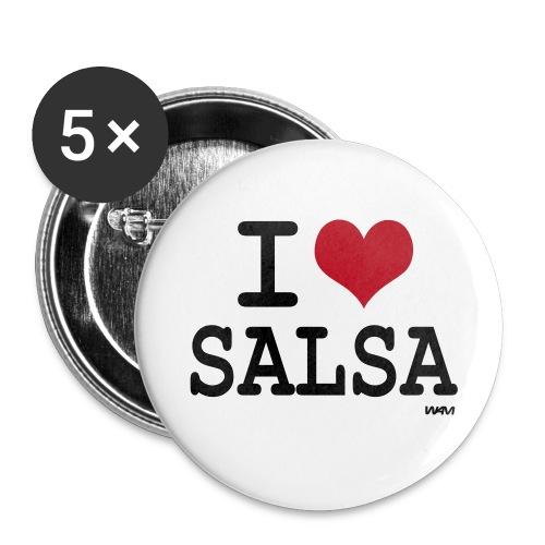 SalsAddict - Badge grand 56 mm