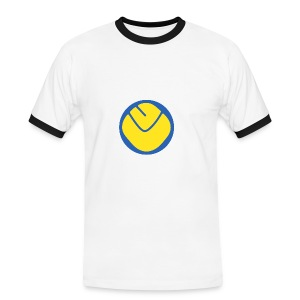 Smiley rimmed T-shirt - Men's Ringer Shirt