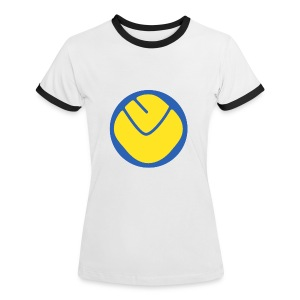 Smiley Womans T-Shirt - Women's Ringer T-Shirt