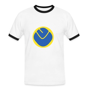Inverse Smiley T-Shirt Rimmed - Men's Ringer Shirt