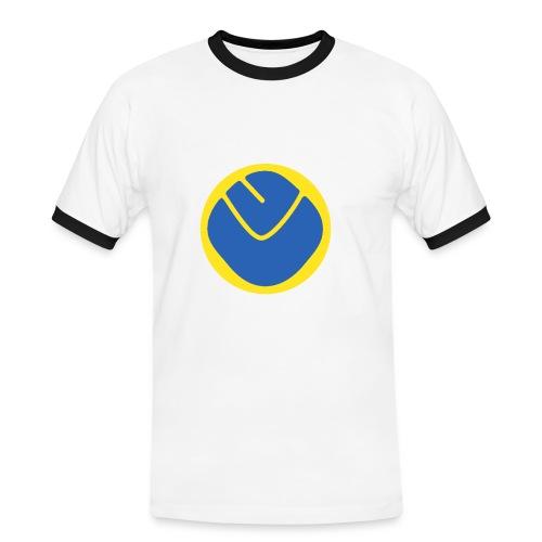 Inverse Smiley T-Shirt Rimmed - Men's Ringer Shirt
