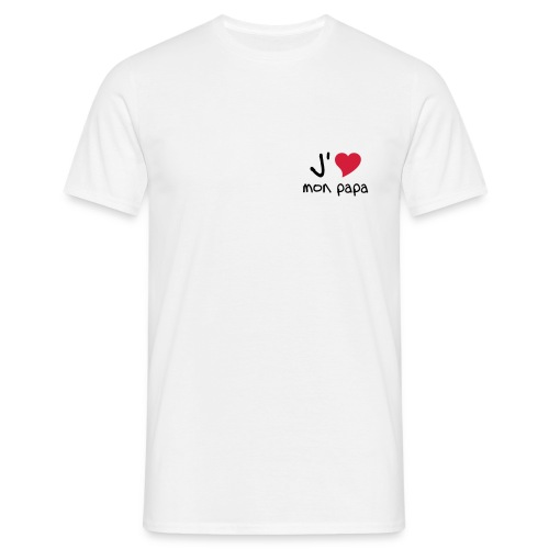 J'aime papa - T-shirt Homme