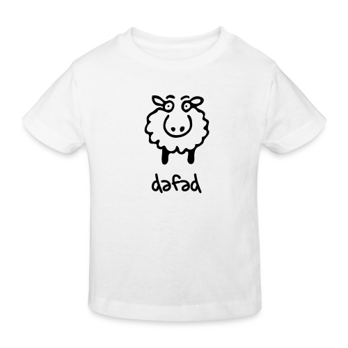 dafad - cryst - Kids' Organic T-Shirt