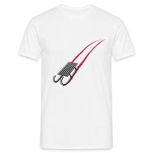 Man - kerstslee - Mannen T-shirt