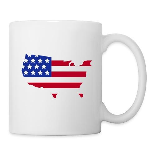 Tasse USA - Mug blanc