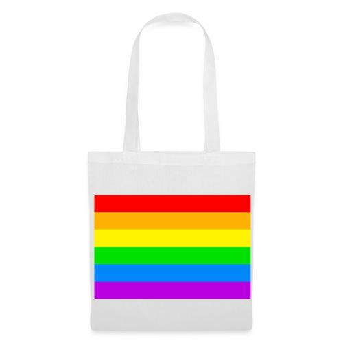 Sac tissu Peace and Love - Tote Bag