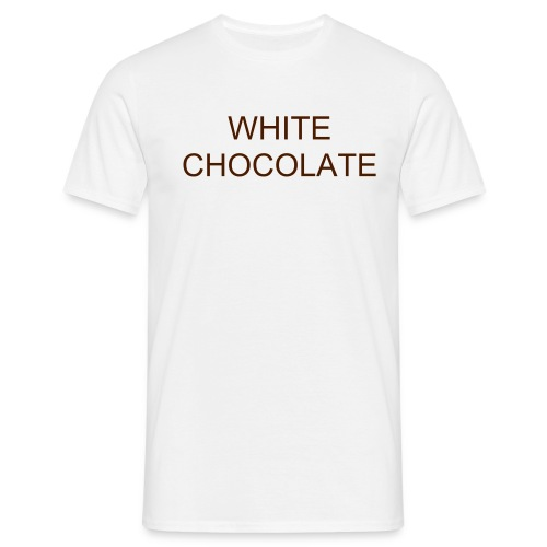 White Chocolate Tee - Men's T-Shirt