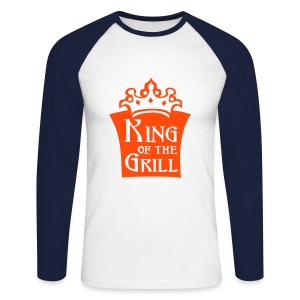King Grill - Men's Long Sleeve Baseball T-Shirt