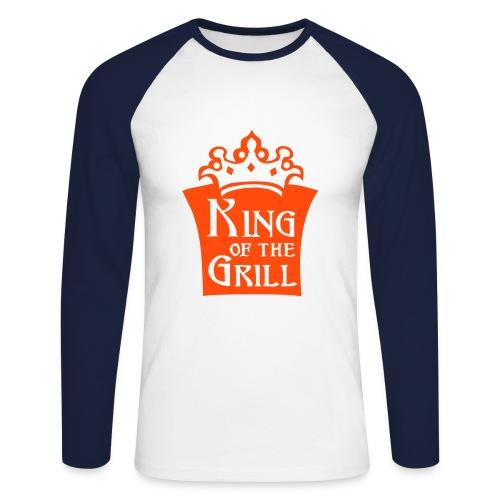 King Grill - Men's Long Sleeve Baseball T-Shirt