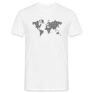 Camiseta Boy Style Digital Planet - Camiseta hombre