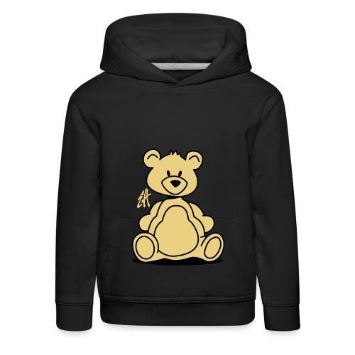 Teddybär dark - Pull à capuche Premium Enfant