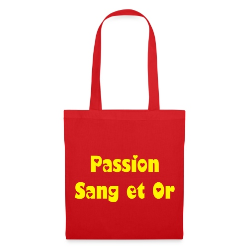 Sac toile Passion Sang et Or - Tote Bag