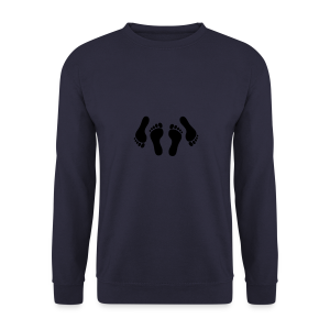 happy feet - Men's Sweatshirt