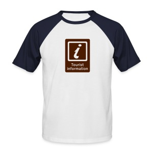 1 23 - Men's Baseball T-Shirt